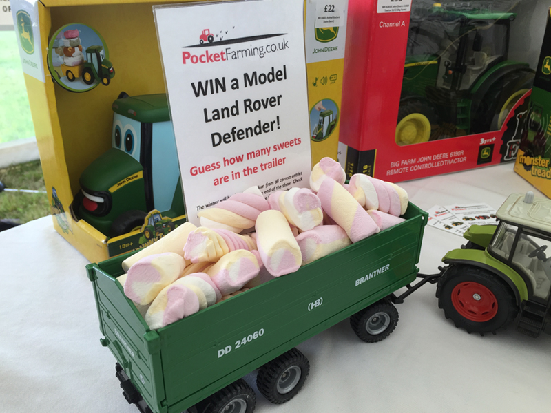 Blakesley Show 2017 Pocket Farming Competition