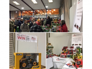 Model Tractor Show 2017 - Prize Draw Winner