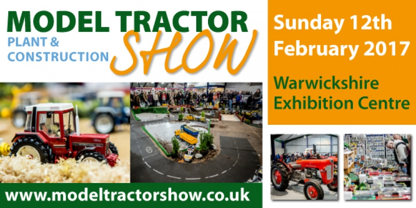 D Exhibition Uk : News model tractor plant construction show th