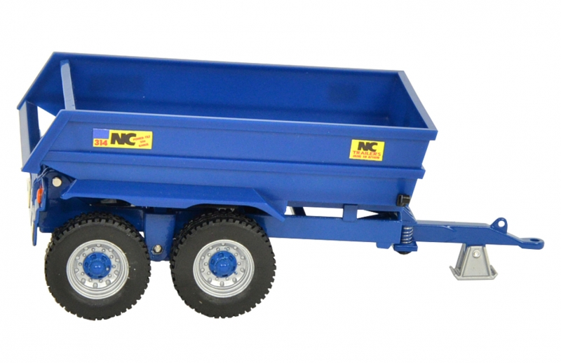 New Britains NC Power Tilt Dump Trailer