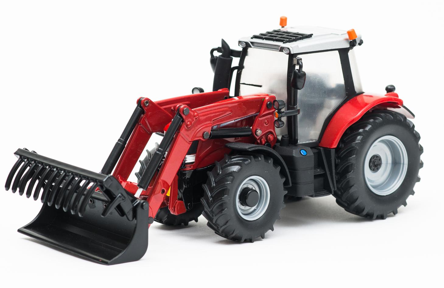 Massey Ferguson Tractor Loader Backhoe : Britains a massey ferguson tractor with front